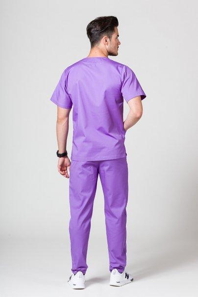 komplety-medyczne-meskie Pánská zdravotnická súprava Sunrise Uniforms fialová