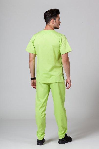 supravy Pánská zdravotnická súprava Sunrise Uniforms limetková