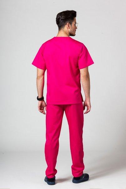 komplety-medyczne-meskie Pánská zdravotnická súprava Sunrise Uniforms malinová