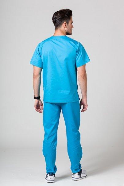 komplety-medyczne-meskie Pánská zdravotnická súprava Sunrise Uniforms tyrkysová