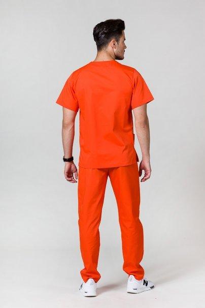 komplety-medyczne-meskie Pánská zdravotnická súprava Sunrise Uniforms oranžová