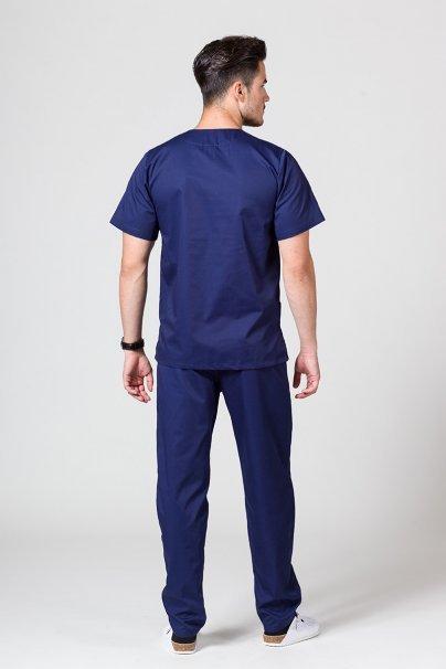 komplety-medyczne-meskie Pánská zdravotnická súprava Sunrise Uniforms námořnická modř