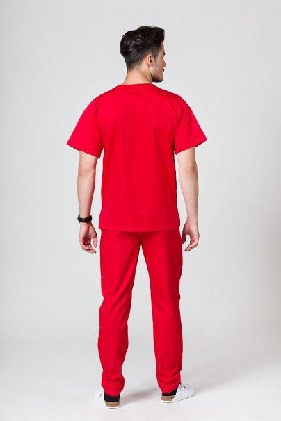 komplety-medyczne-meskie Pánská zdravotnická súprava Sunrise Uniforms červená