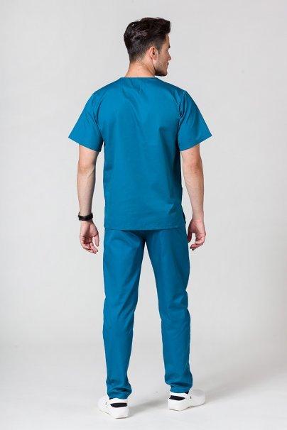 komplety-medyczne-meskie Pánský zdravotnický komplet Sunrise Uniforms karibský modřý