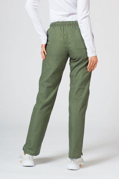 spodnie-medyczne-damskie Lékařské kalhoty Maevn Red Panda olivové