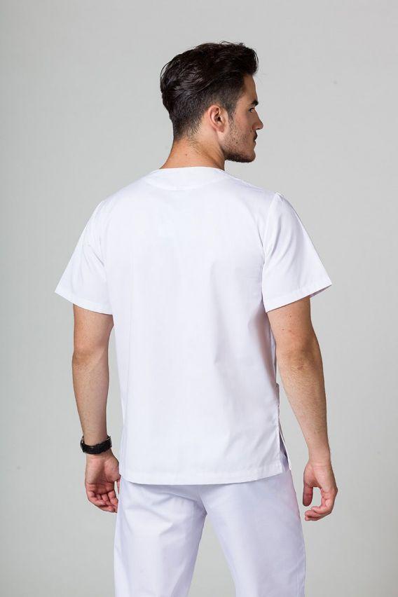 bluzy-medyczne-meskie Univerzálna lekárska blúzka Sunrise Uniforms biela promo