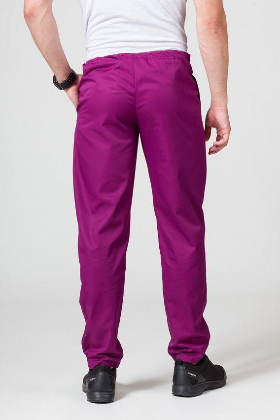 spodnie-medyczne-meskie Univerzální lékařské kalhoty Sunrise Uniforms jasně lilkové