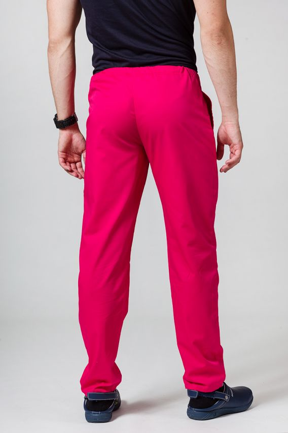 nohavice Univerzální lékarské nohavice Sunrise Uniforms malinové