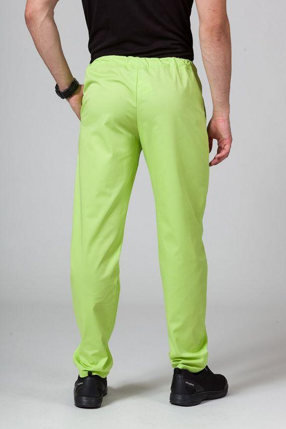 nohavice Univerzální lékarské nohavice Sunrise Uniforms limetkové