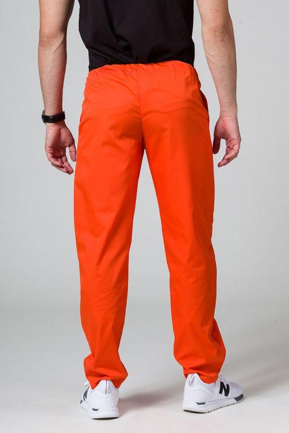 nohavice Univerzální lékarské nohavice Sunrise Uniforms oranžové