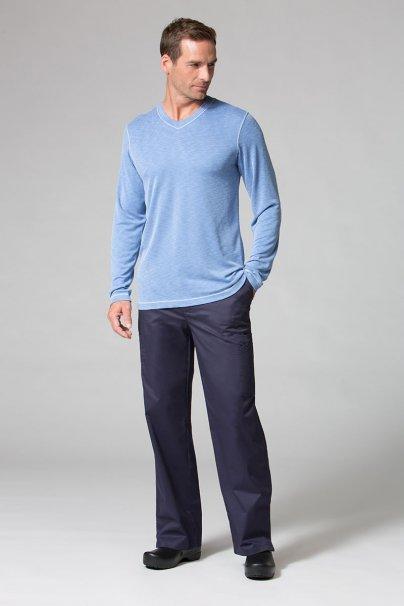 s-kratkym-rukavom Pánske tričko s dlhým rukávom Maevn Modal modré