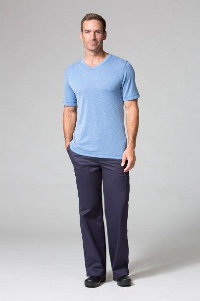 s-kratkym-rukavom Pánske tričko Maevn Modal modré