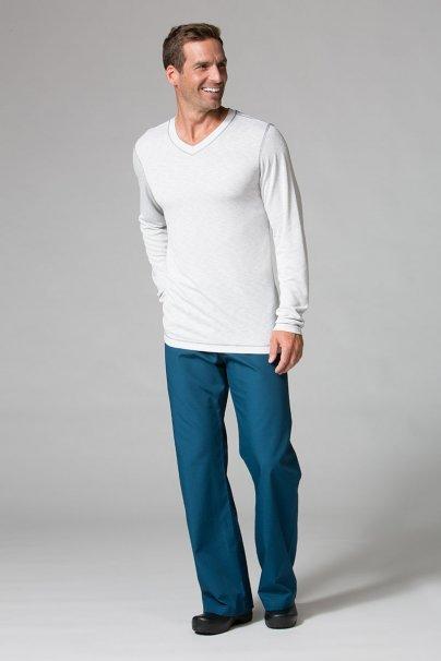 s-kratkym-rukavom Pánske tričko s dlhým rukávom Maevn Modal svetlo šedé