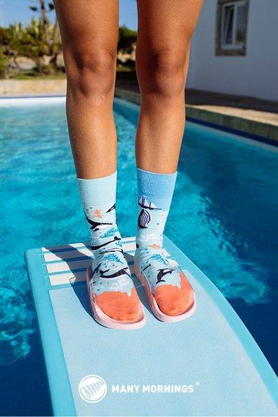 ponozky Farebné ponožky Ocean Life - Many Mornings