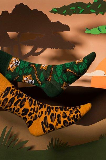 ponozky Farebné ponožky El Leopardo - Many Mornings