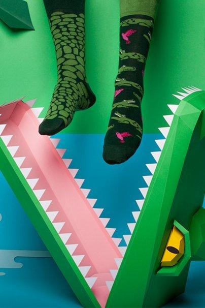ponozky Farebné ponožky Forfitter - Many Mornings