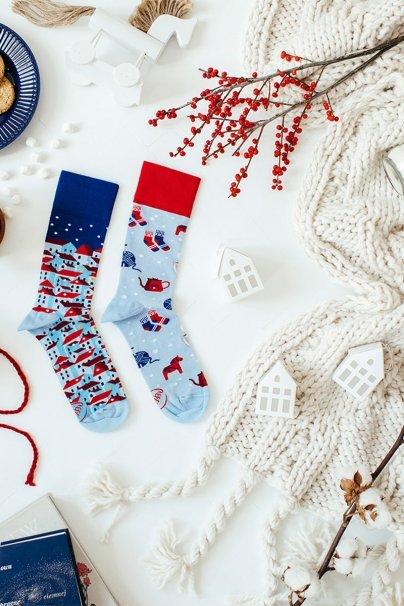 skarpetki Farebné ponožky Hygge - Many Mornings