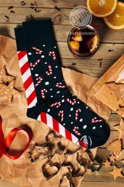 skarpetki Farebné ponožky Sweet X-mass - Many Mornings