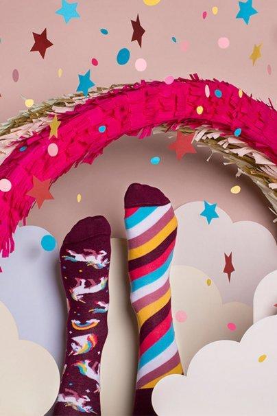 ponozky Farebné ponožky The Unicorn - Many Mornings