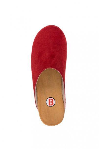 obuwie-medyczne-damskie Zdravotní obuv Buxa model PZM1 červená semiš