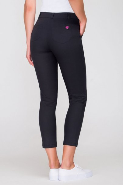 spodnie-medyczne-damskie Dámské úplé zdravotnické kalhoty Vena černé
