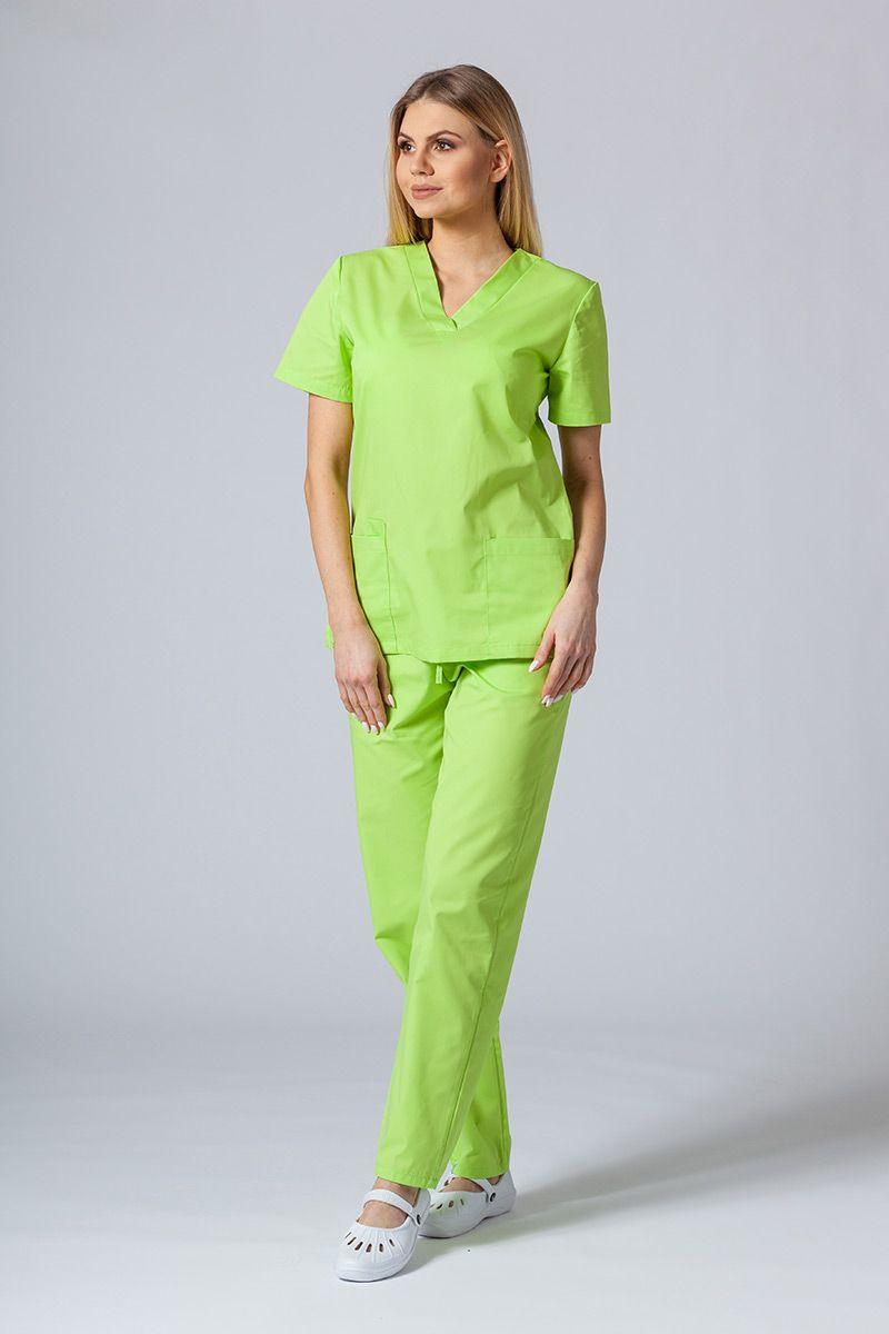 Zdravotnická súprava Sunrise Uniforms limetková