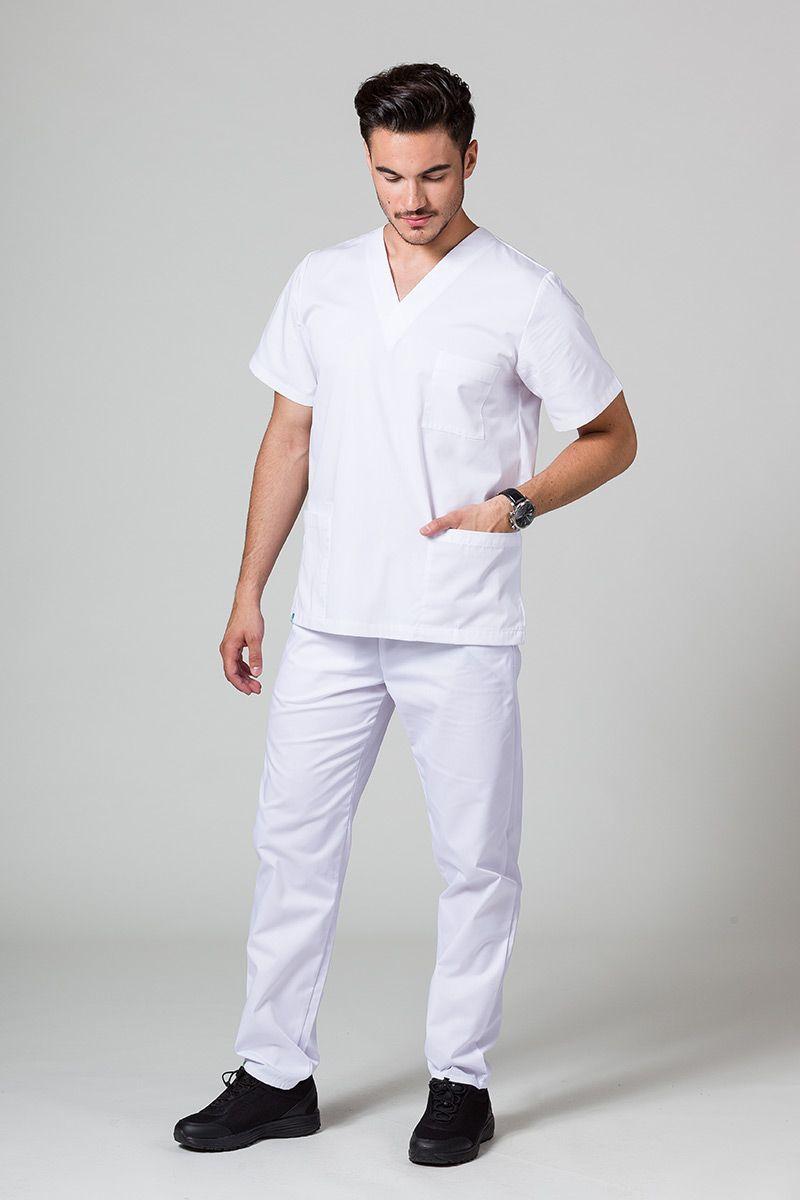 Pánská zdravotnická súprava Sunrise Uniforms bílá