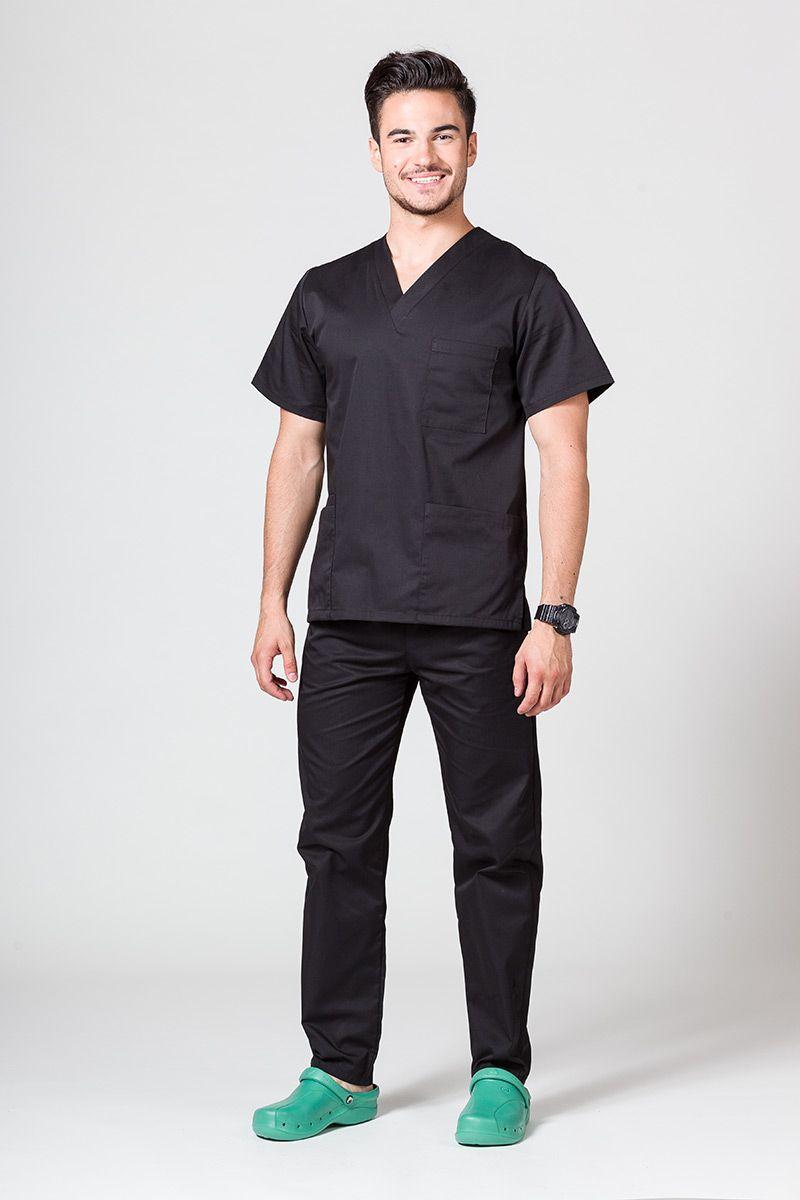 Pánská zdravotnická súprava Sunrise Uniforms černá