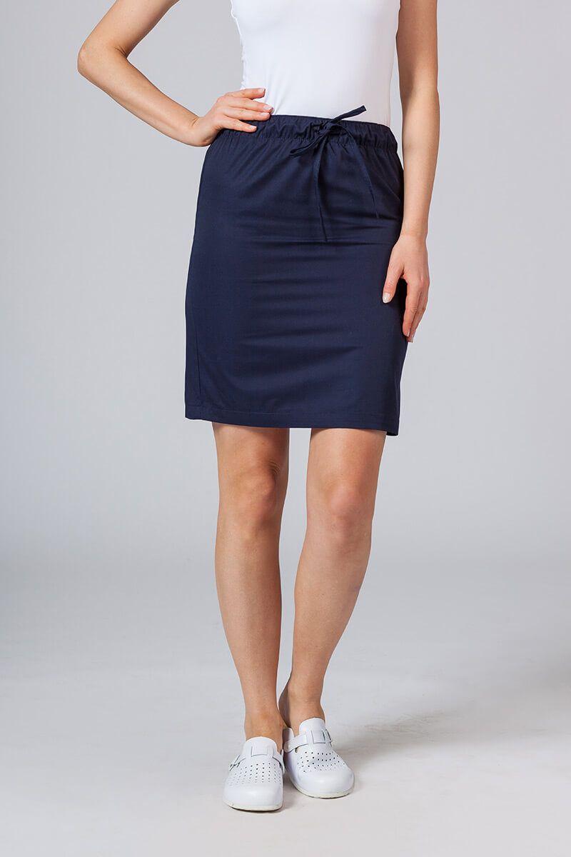 Krátká zdravotnická sukně Sunrise Uniforms námořnická modř