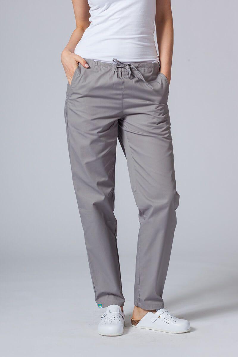 Univerzální lékarské nohavice Sunrise Uniforms šedé