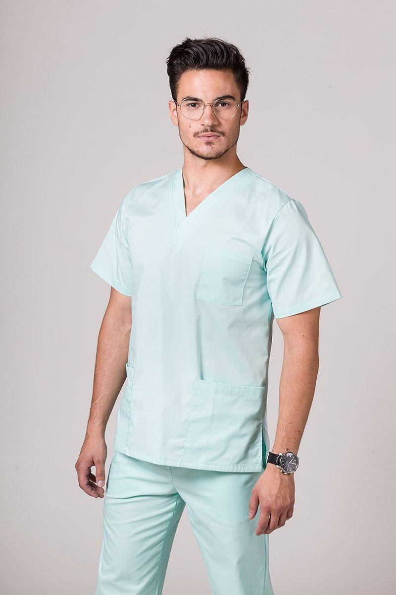 Univerzálna lekárska blúzka Sunrise Uniforms mátová