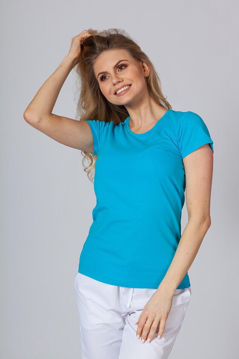 Dámské tričko tyrkysové