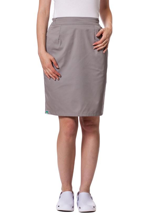 Sukně s kapsami Sunrise Uniforms šedá