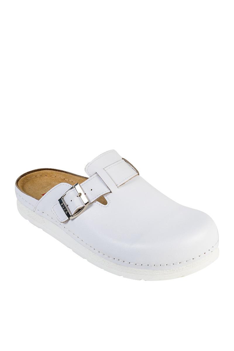 Zdravotní obuv pro muže Buxa Anatomic BZ420 bílá