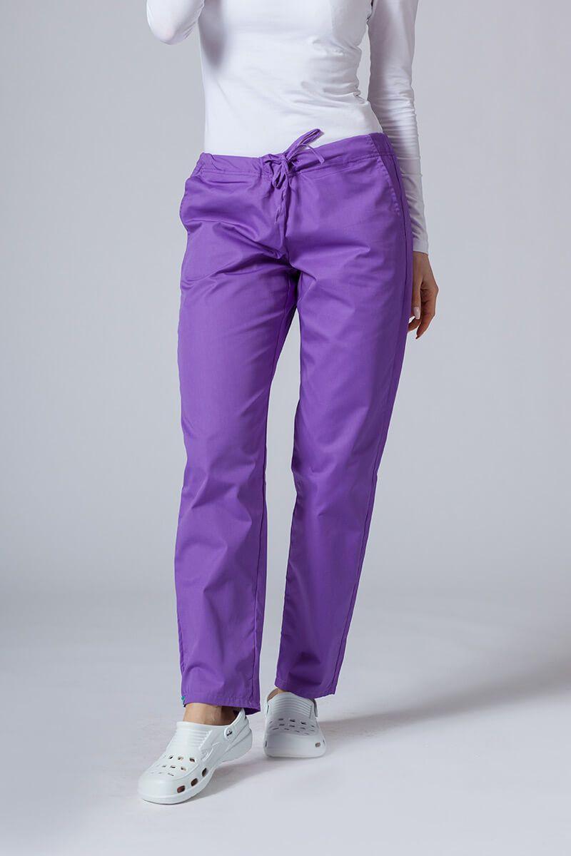 Univerzální lékařské kalhoty Sunrise Uniforms fialové