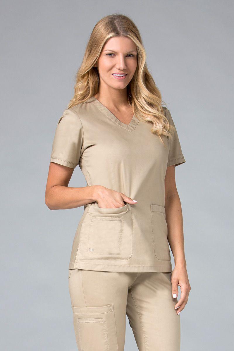 Lékařská halena Maevn Blossom (elastic) khaki