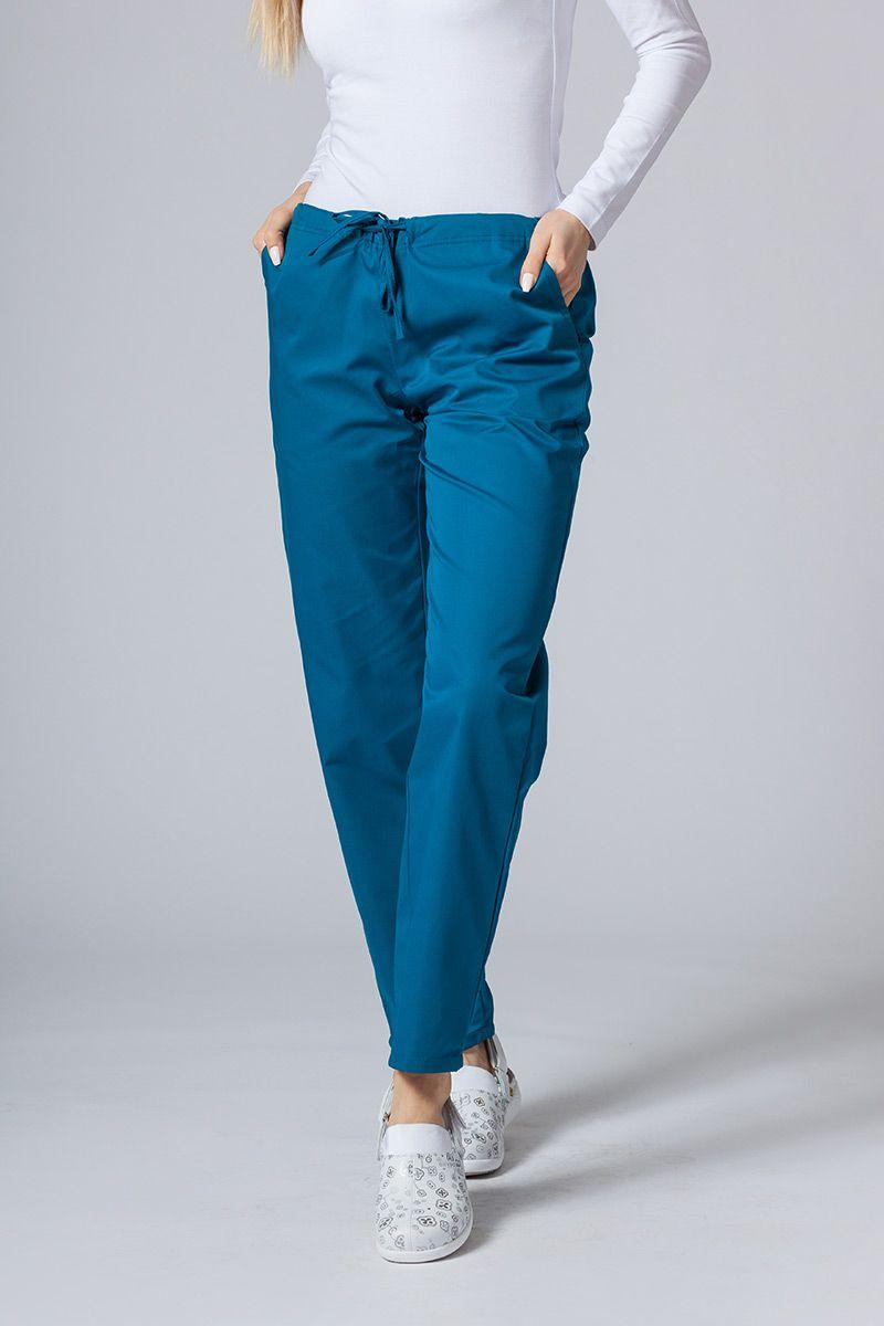 Univerzální lékařské kalhoty Sunrise Uniforms karibské modré