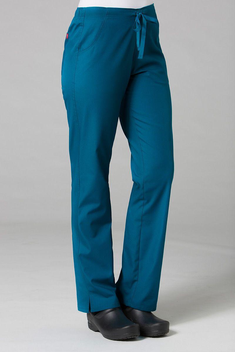 Lékařské kalhoty Maevn Red Panda karibsky modré