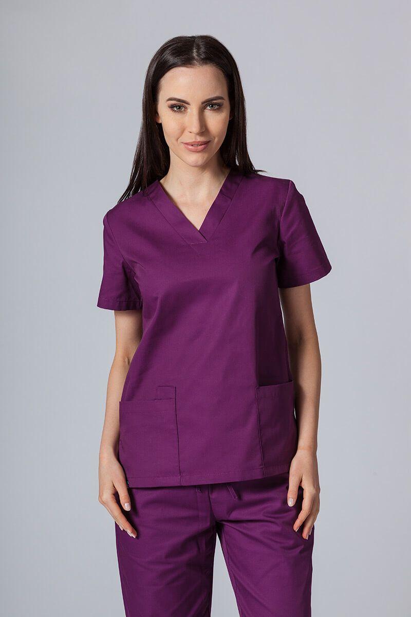 Lékařská halena Sunrise Uniforms lilková