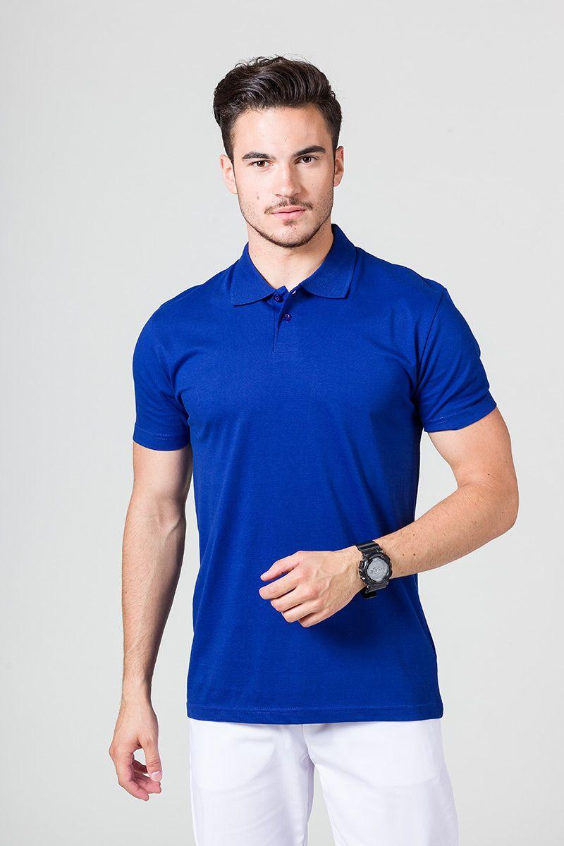 Pánské Polo tričko tmavě modré