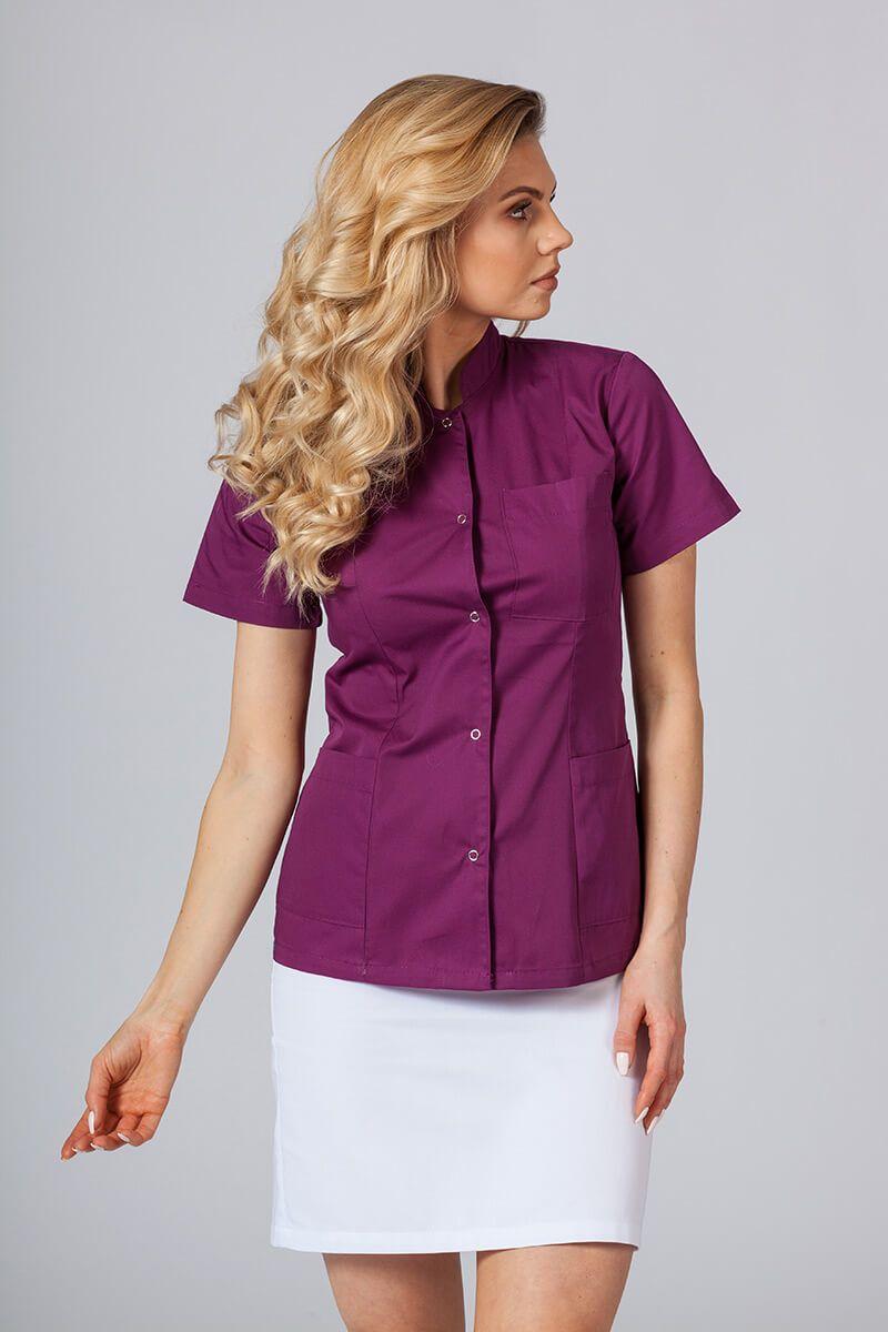 Lékařské sako 01 Sunrise Uniforms lilkové