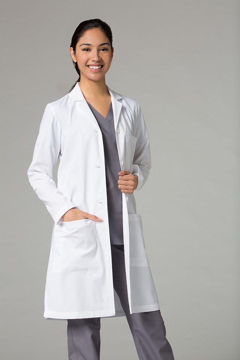 Dámský zdravotnický plášť Red Panda Maevn bílý (dlouhý)