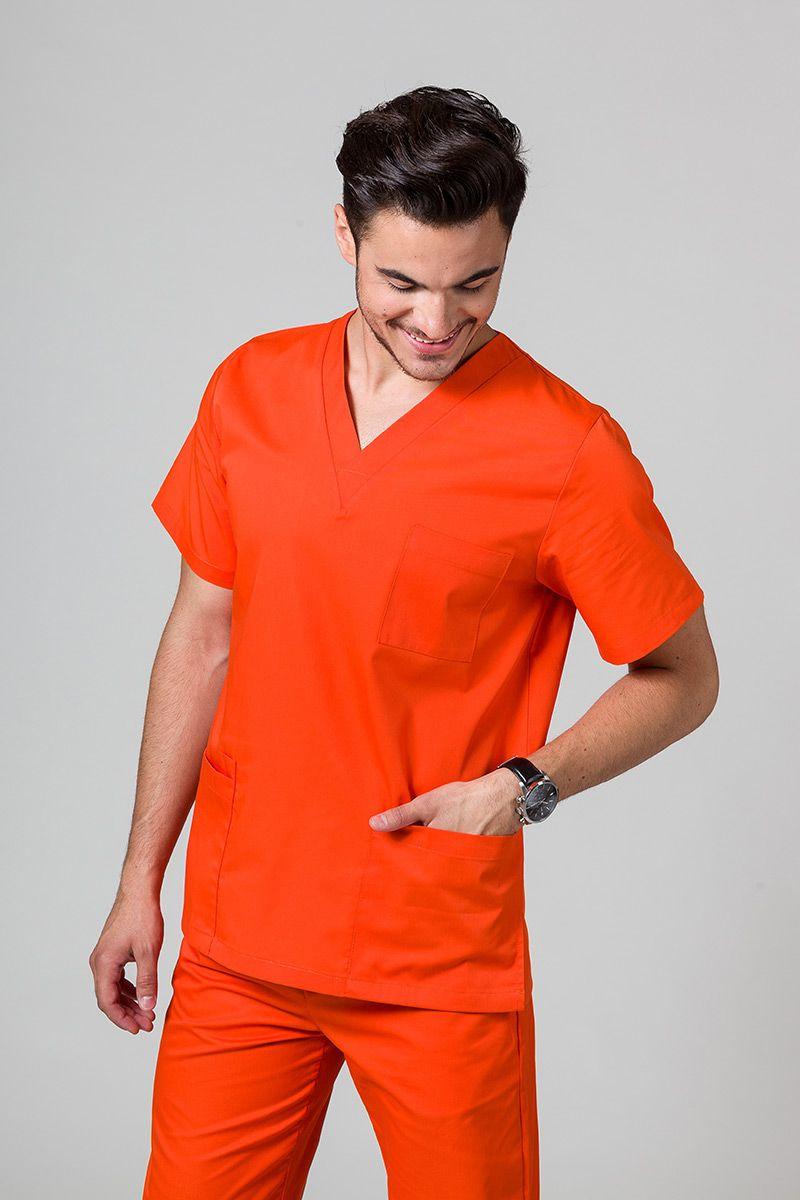 Univerzálna lekárska blúzka Sunrise Uniforms oranžová