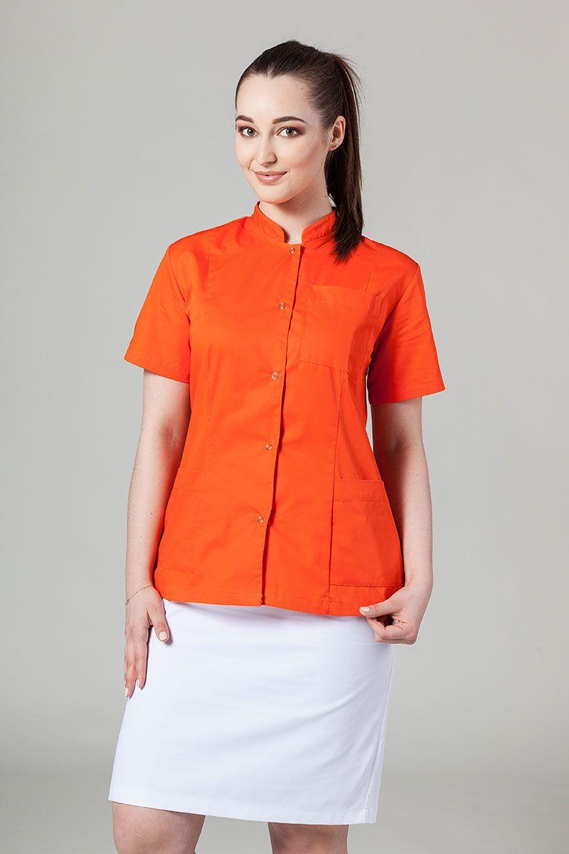 Lékařské sako 01 Sunrise Uniforms oranžové