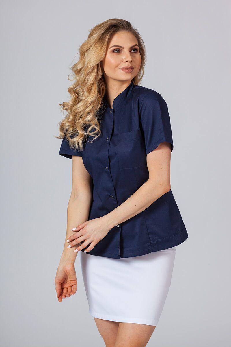 Lékařské sako 01 Sunrise Uniforms námořnická modř
