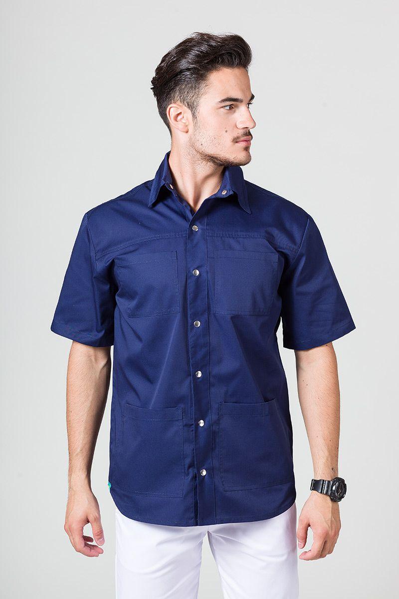Lékařská mikina Sunrise Uniforms námořnická modř