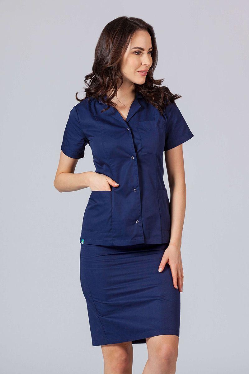 Lékařské sako 02 Sunrise Uniforms námořnická modř
