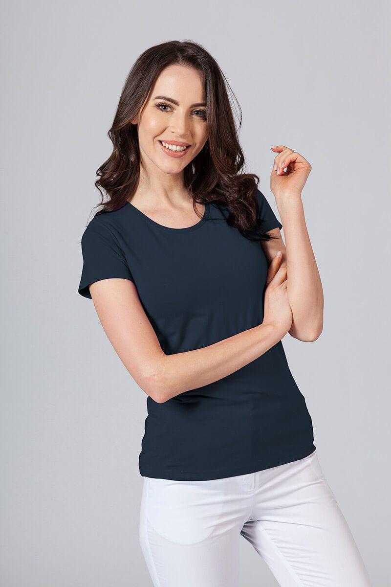 Dámské tričko - námořnická modř