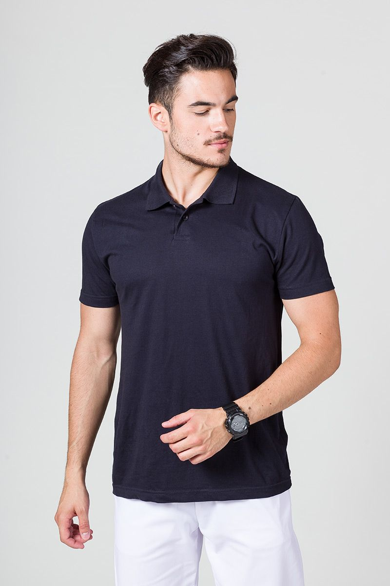 Pánské Polo tričko námořnická modř