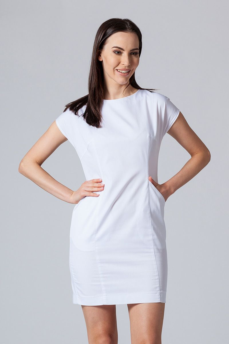 Šaty Sunrise Uniforms Elite biele